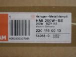 Osram HMI 200W/SE Gzy9,5 6000K Hot Restrike