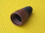 (Grundpreis 0,79€/Stk.) 10 Stück Neutrik BSX -1 Farbkappe Tülle braun für X-Serie