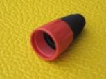 (Grundpreis 0,79€/Stk.) 10 Stück Neutrik BSX -2 Farbkappe Tülle rot für X-Serie