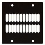 Modul 2/10 Lüftung  Modulsystem Modulrahmen ARTCASE