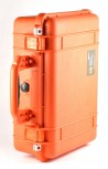 Peli 1500 orange Würfelschaumstoff Koffer Kamerakoffer