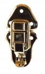 Kofferschloß mit Öse 95x50mm 56/39mm vernickelt groß und stabil