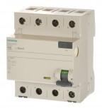 Siemens 5SV3644-6 Fi Schalter 40/0,3 300mA 4polig