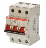 ABB E203/100r Hauptschalter 100A 3 polig 2CDE283001R0100