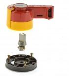 Moeller RH6 Handgriff I/O für vorderseitige Schalterachse/  komplett