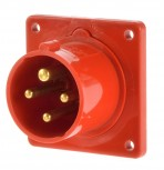 ABL CEE Einbaustecker 16a 4 polig 6h A41.34