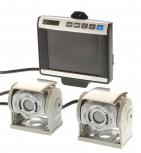 Waeco Set 2x CAM60 ADR Farbkamera + Monitor M5L