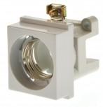 Wöhner 01971 D Einbau Sicherungssockel E27  60mm System
