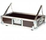 "Flightcase Mixercase 19"" 8 He 9,5 cm Einbautiefe"