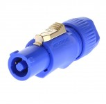 Neutrik NAC3FCA Powercon Stecker blau Power in