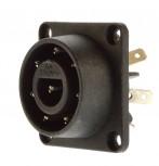 Bulgin Einbaustecker 8 polig 6A /250V