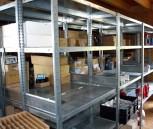 Regal 10m lang H185 T30 cm Schraubregal