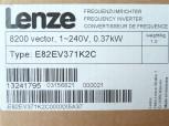 Lenze E82EV371K2C Frequenzumrichter 0,37 Kw Vector8200 1-240V