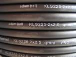 (Grundpreis 1,99€/m) 35 m Lautsprecherkabel 2x2,5mm²  Adam Hall KLS225 Reststück
