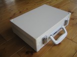 GSA Blechkoffer weiß Koffer 47x 34 x 9,5cm 5439