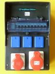 Walther Stromverteiler 6473002 Vollgummi 32-16-3x220  Fi40A
