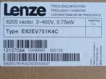 Lenze E82EV751K4C Frequenzumrichter 0,75 Kw Vector8200 400V