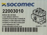 Socomec Sirco M3 Lasttrennschalter 3x100A 22003010