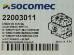 Socomec Sirco M3Lasttrennschalter 3x125A 22003011