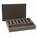 Schaumstoffeinlage für 7 Mikrofone / Adam Hall 2806