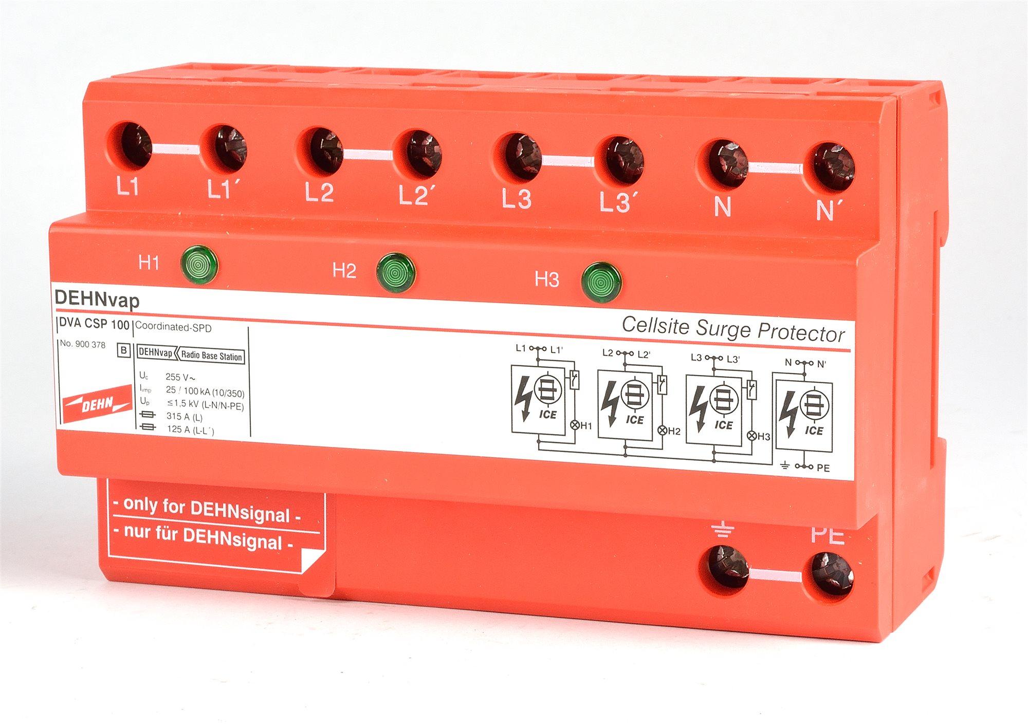 DEHNvap DVA CSP 100 900378 Kombi Ableiter Dehn -15885