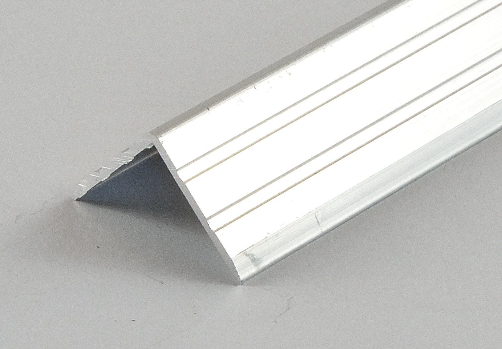kantenschutz 22x22x1 5mm aluminium winkelprofil 10196. Black Bedroom Furniture Sets. Home Design Ideas