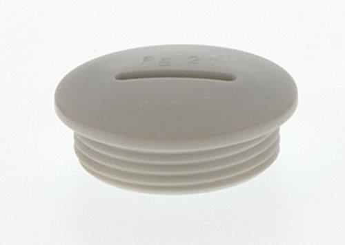Blindstopfen kunststoff rund m16 15604 for Kunststoff pool rund