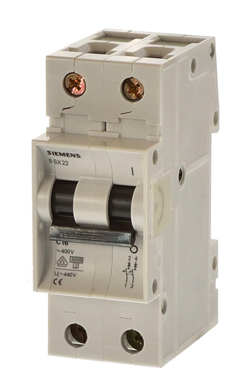Siemens 5SX2210-7 C10 Sicherungsautomat 2 polig-11835