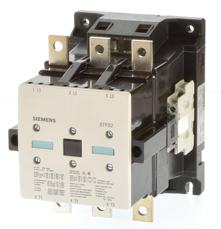 siemens ventilator tf 251  : Siemens 3TF52 22-0AP0 Sch\u00fctz 90KW Spule 230VAC-14329