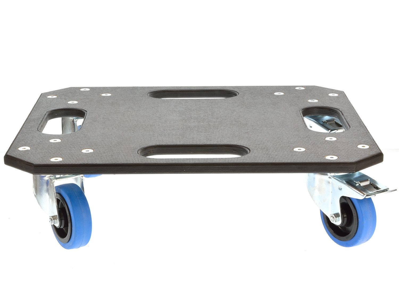 rollenbrett mit blue wheels tente rollen 50x57cm 11481. Black Bedroom Furniture Sets. Home Design Ideas