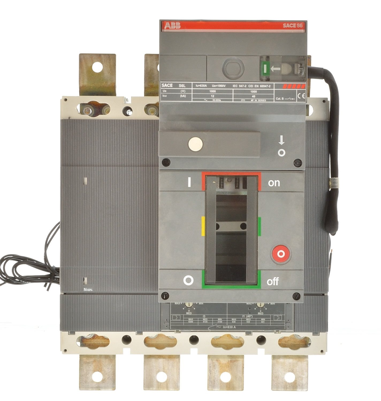 ABB S6L 630 Sace Isomax Leistungsschalter 630A 1SDA050467R1-19238