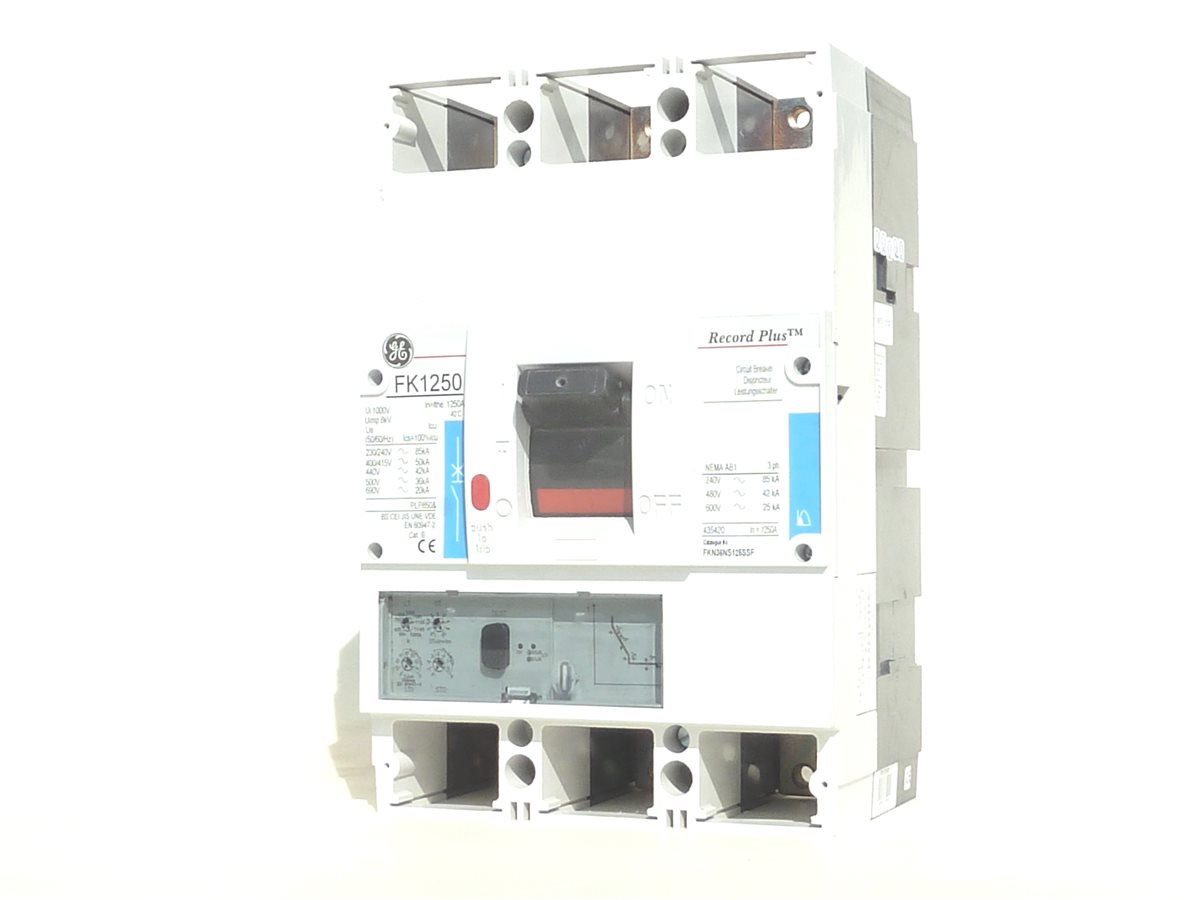AEG GE FK1250 Leistungsschalter 1250A 3polig Record Plus ...