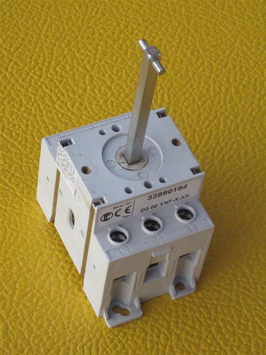 hauptschalter 3 polig 63a achse60mm lang 5x5mm 12124. Black Bedroom Furniture Sets. Home Design Ideas