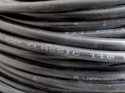 (Grundpreis 0,79€/m) YSLY-JZ Steuerleitung 4x1mm² / 100m Ring Ölflex Classic 110 schwarz