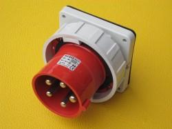 Bals 2876 CEE Flanschgerätestecker TE gerade 125A 5p 400V 6h IP67