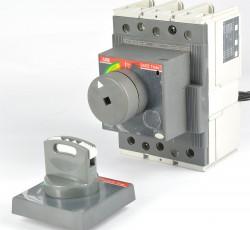 ABB TMAX T3S 250 Leistungsschalter 250A mit Drehhebelantrieb