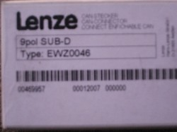 Lenze Can Stecker 9pol SUB-D Type EWZ0046