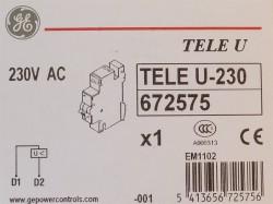 AEG GE TELEU-230 Unterspannungsauslöser 672575