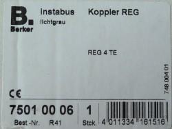Berker 75010006 Istabus Koppler REG