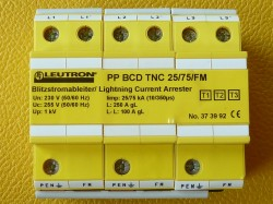 Leutron PP BCD TNC 25-75 FM Überspannungsschutz Art.373992 Verpackung beschädigt