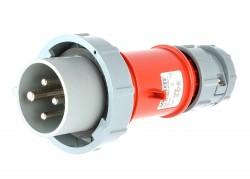 Mennekes 3809 CEE Stecker 16A 6h 4 polig ip67 neuwertig