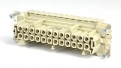 Weidmüller HDC-HE24-BZF Buchseneinsatz B24 mit Zugfederanschluß