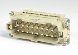 Weidmüller HDC-HE16-SZF-17-32 Stifteinsatz 16 polig Nummerrierung 17-32