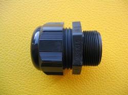 (Grundpreis 0,745€/Stk.) Vpe. 20 Stück Kabelverschraubung M20 Helu schwarz 7-12 mm
