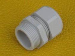 (Grundpreis 0,29€/Stk.) Vpe. 100 Stück Kabelverschraubung PG11 Polyamid lichtgrau Ral7035 5-10mm