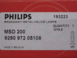 Philips MSD200 70V/200W GY-9,5 2000h