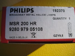 Philips MSR 200 HR Halogen-Metalldampflampe