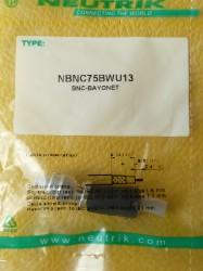 Neutrik NBNC75BWU13 BNC Stecker