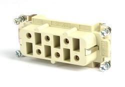 Ilme CPF 06 Buchseneinsatz 6polig +PE / 35A /400V