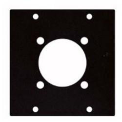 Modul 2/10  f. Schuko Steckdose Modulsystem Modulrahmen